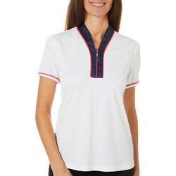 Greg Norman Womens Palm Beach Vero Polo Shirt