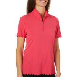 Greg Norman Collection Womens Palm Beach Getaway Polo Shirt