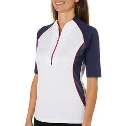 Greg Norman Womens Palm Beach Marina Polo Shirt