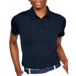 Under Armour Womens Zinger Solid Short Sleeve Polo Shirt