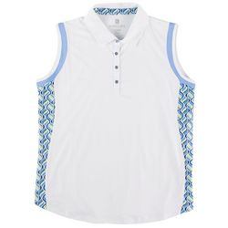 Kate Lord Womens White And Color Tank Top