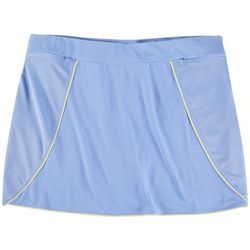 Kate Lord Womens Solid Color Skort