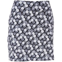 Coral Bay Golf Womens Dot Print Pull On Skort