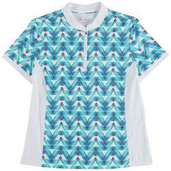 Lillie Green Womens Arrows Polo Shirt