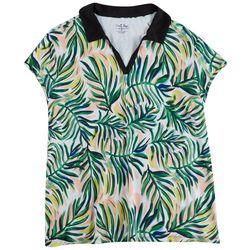 Coral Bay Golf Womens Multi Foliage Polo Shirt