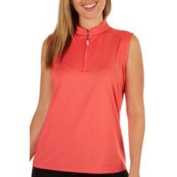 Coral Bay Golf Womens UPF Protection Sleeveless Polo Shirt