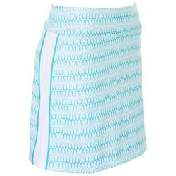 Coral Bay Golf Womens Printed Skort