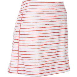 Womens Striped Skort