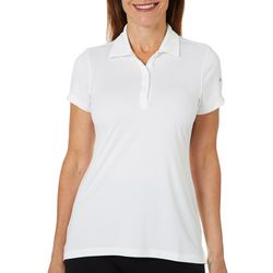 Columbia Golf Womens Solid Birdie Polo Top