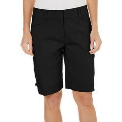 Coral Bay Golf Womens Bengaline Solid Shorts