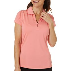 Tournament Collection Womens Textured Polo Shirt