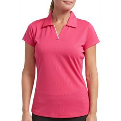 Tournament Collection Womens Diamond Short Sleeve Polo Shirt