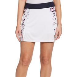 PGA TOUR Womens Triangle Panel Knit Skort