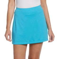 PGA TOUR Womens Airflux Solid Knit Skort