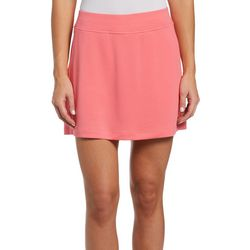 PGA TOUR Womens Airflux Knit Solid Skort
