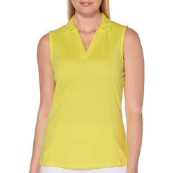 PGA TOUR Womens Solid Tank Top Golf Shirt