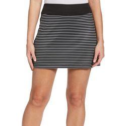 PGA TOUR Womens Striped Skort
