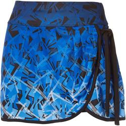 Womens Active Geometric Skort