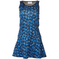Grand Slam Womens Active Geometric Tank Dress