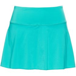 Womens Solid Flirty Performance Tennis Skort