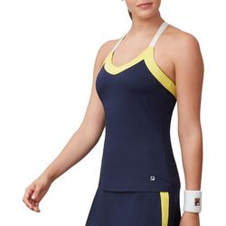 Fila Womens Colorblock Stripe Sleeveless Top