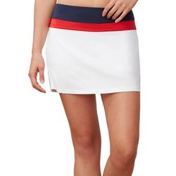 Fila Womens Heritage Colorblock Stripe Skort