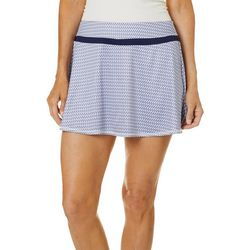 Grand Slam Womens Racket Print Skort