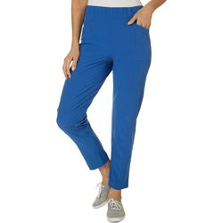 Brisas Womens After Class Solid Capris