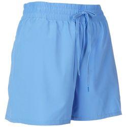 Brisas Womens 4'' Solid Woven Shorts