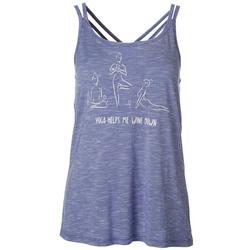 Womens Vital Yoga Help Tank Top