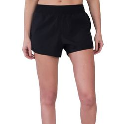 Asics Womens Solid Woven Pull On Shorts