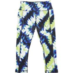 Womens Printed Capri Leggings