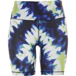 Vogo Womens Everyday Tye Dye Biker Shorts