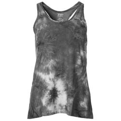 VOGO Womens Tie Dye Mesh Back Tank Top