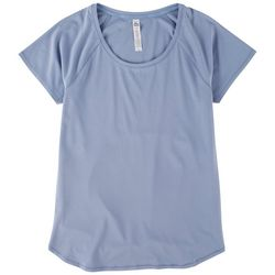 RBX Womens Vented Back Short Sleeves Top