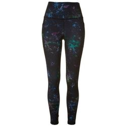 Womens Mystery Galaxy High Waist 7/8 Leggings