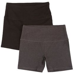 Womens 2-Pk. Short Bike Shorts