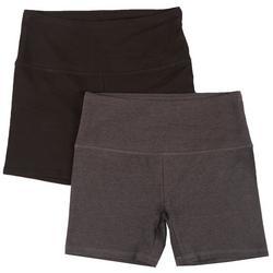 Womens 2-Pk. Short Bike Shorts