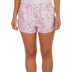 RBX Womens Stretch Stretch Woven Tie-Dye Active  Shorts