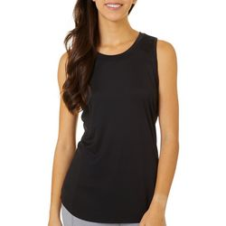 RBX Womens Solid Mesh Panel Tank Top