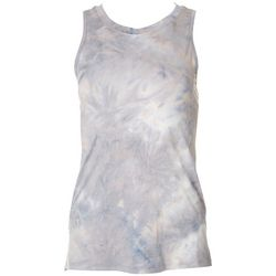 RBX Active Womens High Neck Tie Dye Tank Top