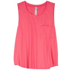 RBX Womens Neon Tank Top With Pocket