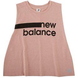 New Balance Womens Logo Muscle Tank Top