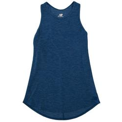 Womens Heathered Racerback Tank Top