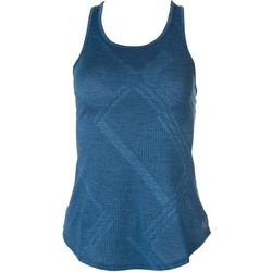 New Balance Womens Solid Racerback Tank Top