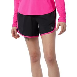 New Balance Womens Accelerate Active Shorts