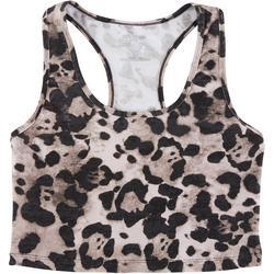 Womens Cheetah Workout Top