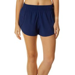 RB3 Active Womens Solid Athletic Shorts