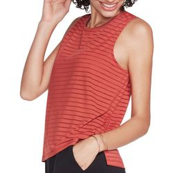 Skechers Womens Exploration Shadow Stripe Tank Top