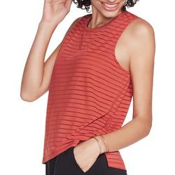 Womens Exploration Shadow Stripe Tank Top